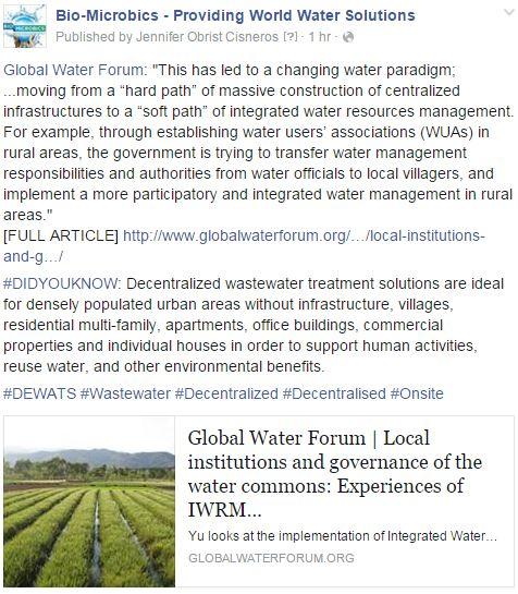 CHINA_BioMicrobics_IWRM_GlobalWaterForum